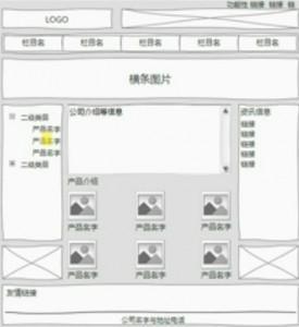 传统企业站模板